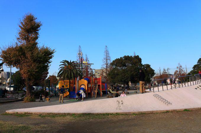 「瀋秀園」の周囲にある「大師公園」も訪問してみよう!