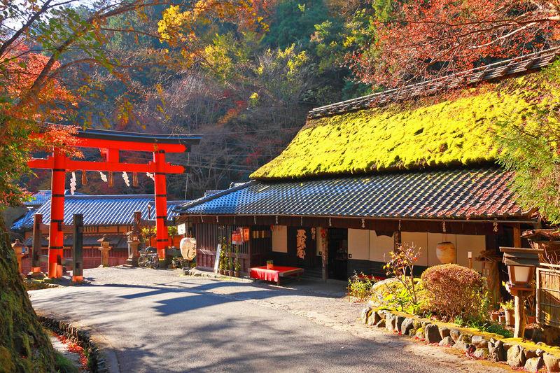 山々に囲まれた奥座敷で紅葉を楽しもう!京都「嵯峨鳥居本」