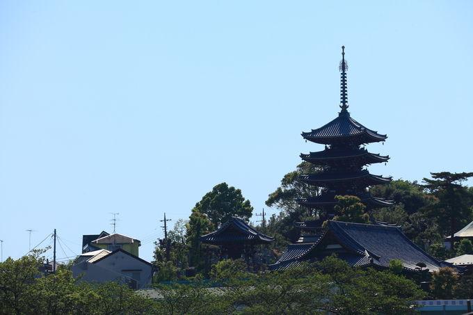 「香林寺」五重塔を見るためのオススメスポット