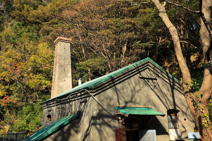 「猿島」にある様々な歴史的遺構や建造物