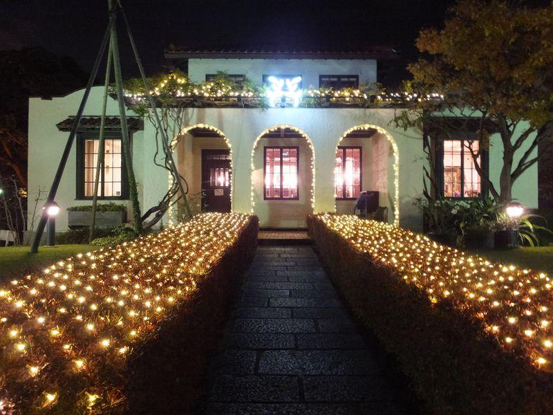 イルミネーションで美しい装い!「横浜山手西洋館」冬の魅力