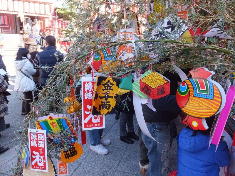 鎌倉の正月を彩る鎌倉えびすで福をいただこう!