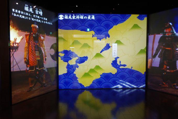 多彩な展示で楽しむ築城からの歴史