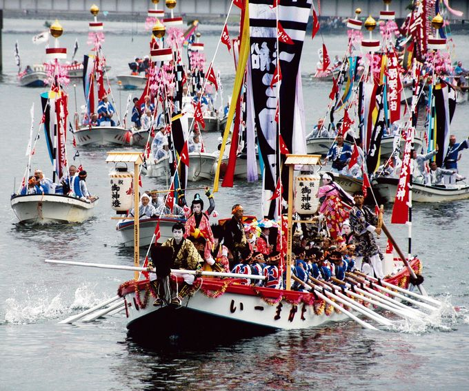 10年に一度の祭を伝える「松江ホーランエンヤ伝承館」