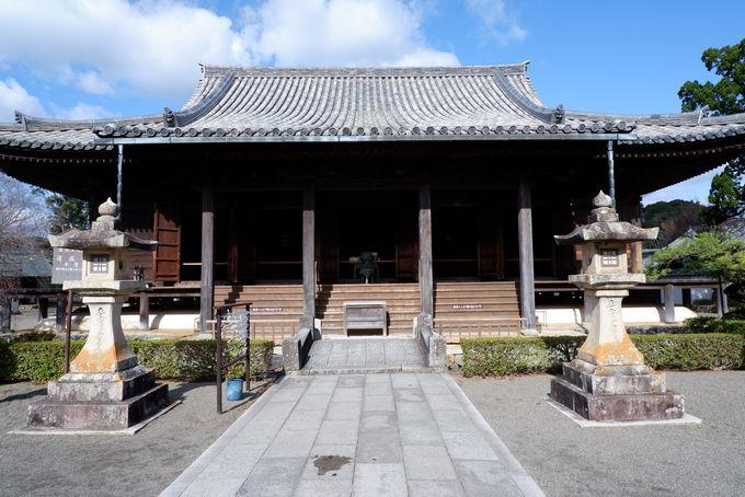 美しい黒髪の姫の願いで建てられた寺
