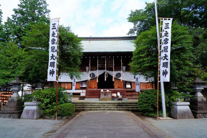 森に囲まれた二之宮川勾神社と古代の信仰の地三之宮比々多神社