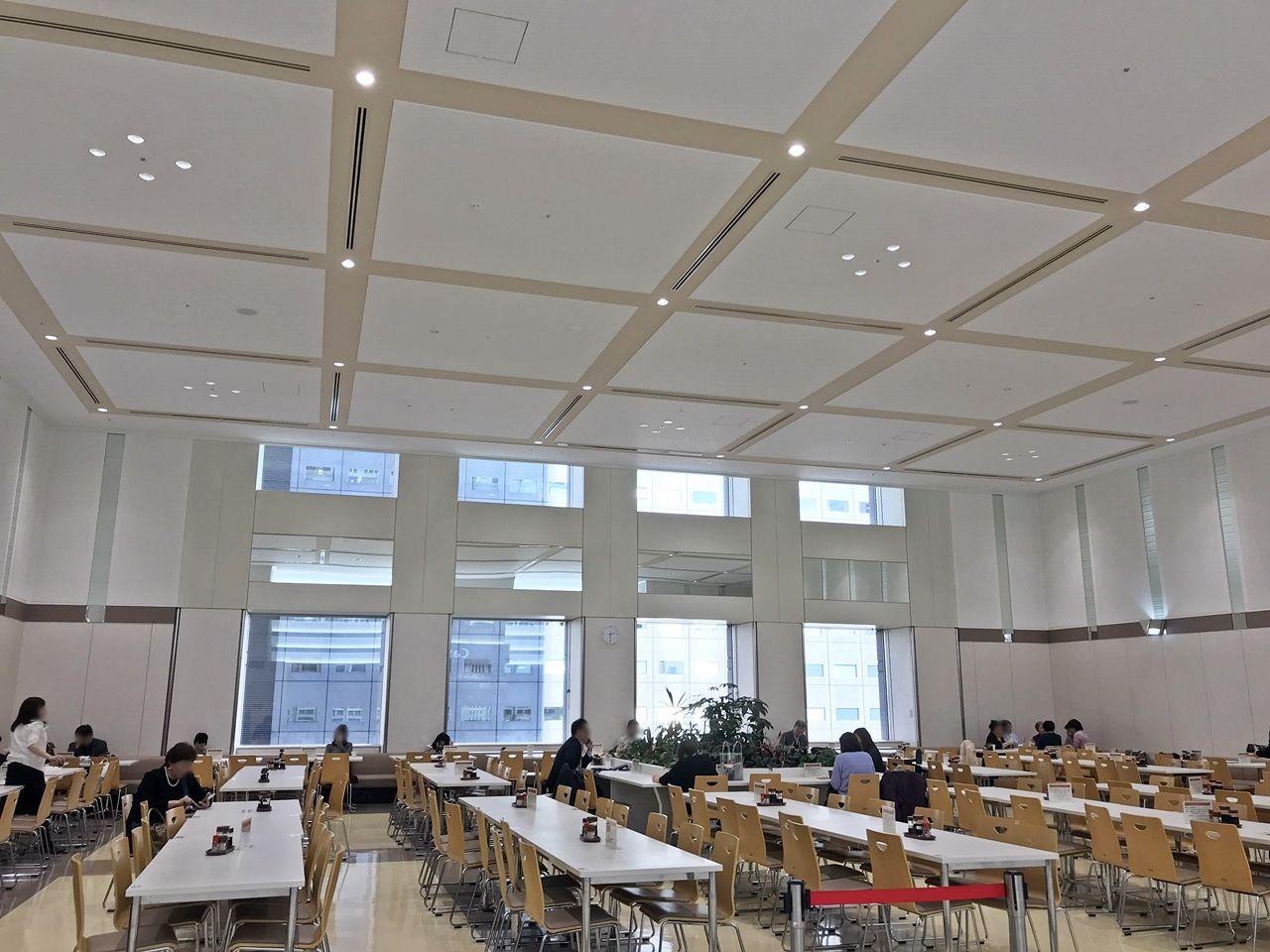もうひとつの食堂スポット「第二本庁舎 4階職員食堂」
