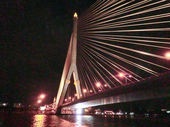 ラマ8世橋の壮大な姿が現れたら…