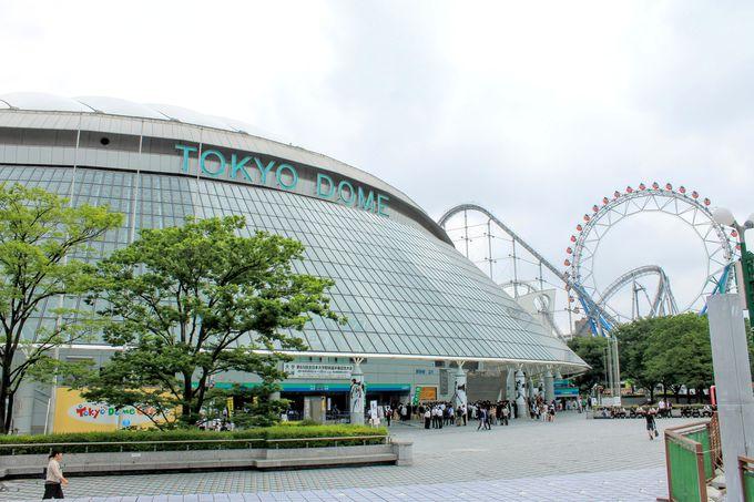 後楽園のランドマーク的存在!東京ドーム