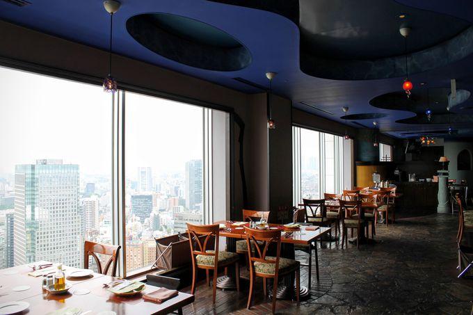 地上150mから東京の街を一望!サウンドステージ&ダイニング「アーティスト カフェ」