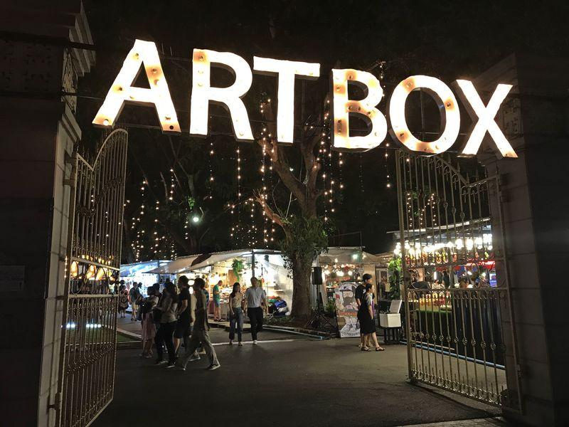 """バンコクで話題!""""移動型""""ナイトマーケット「ARTBOX」でクリエイティブな夜を"""