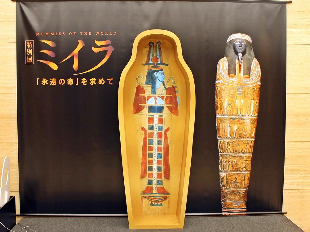 世界からミイラがやってきた!上野・国立科学博物館「特別展 ミイラ」