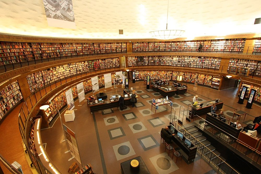 ストックホルム 市立 図書館