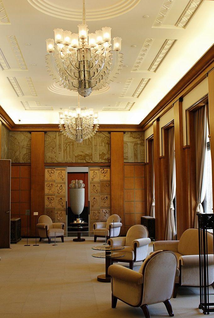 贅沢の限りを尽くして造られた「大客室」と「大食堂」