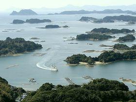 3つの展望台&海から堪能!長崎県「九十九島」の絶景
