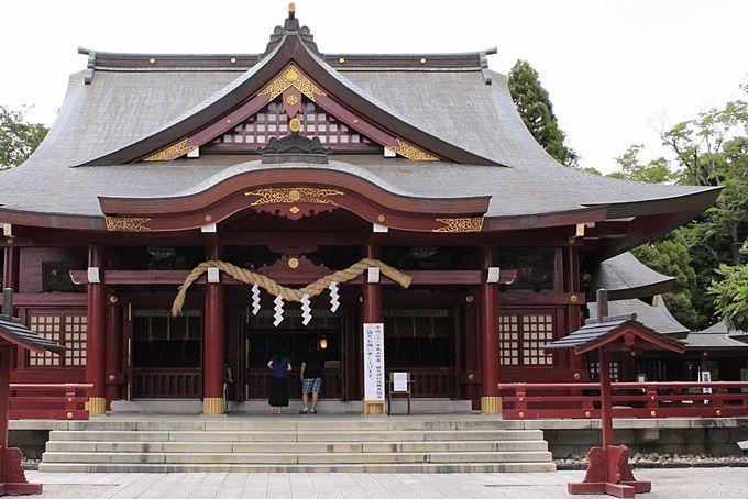 仕事運・金運を導くパワースポット「笠間稲荷神社」。