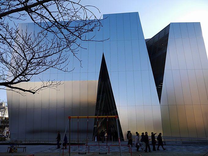 墨田区のニュースポット。すみだ北斎美術館は、超おすすめ!