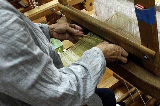 織りを体験。可愛いコースターを作ろう。