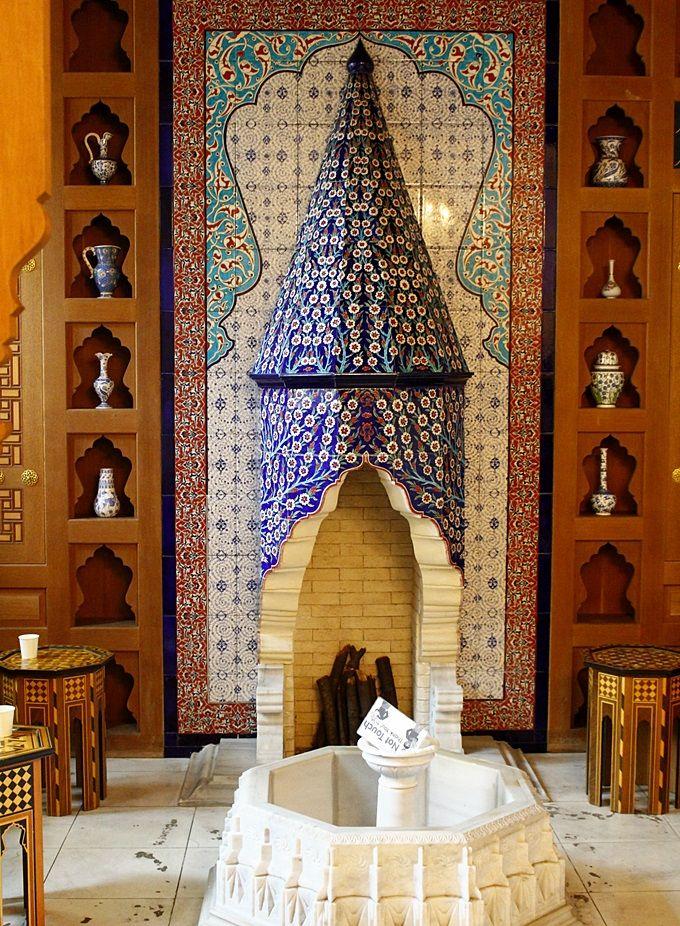 イスラム文化・トルコ文化を伝えるセンターの役割も。