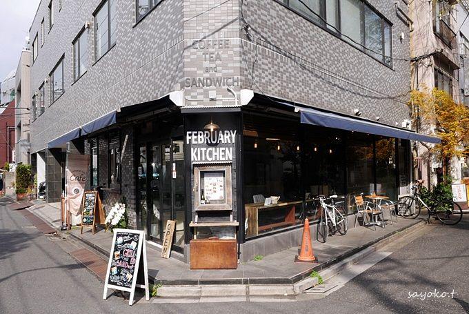 浅草の喧騒から離れたカフェ