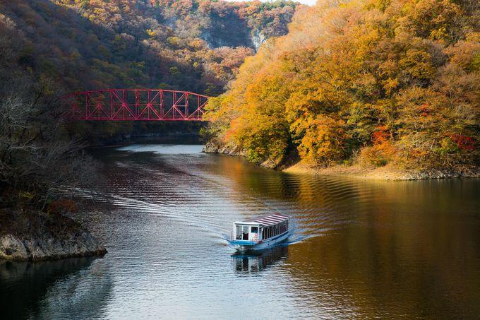 13.ド迫力の世界三大天然橋!帝釈峡の「雄橋」