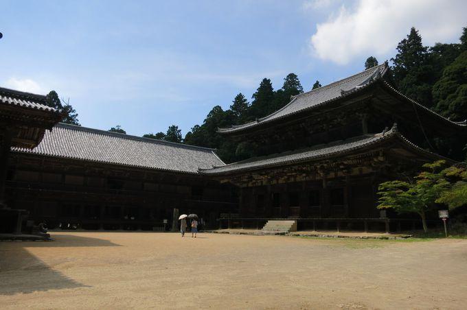 堂々たる三之堂は「ラストサムライ」や「黒田官兵衛」他多くのドラマのロケ地