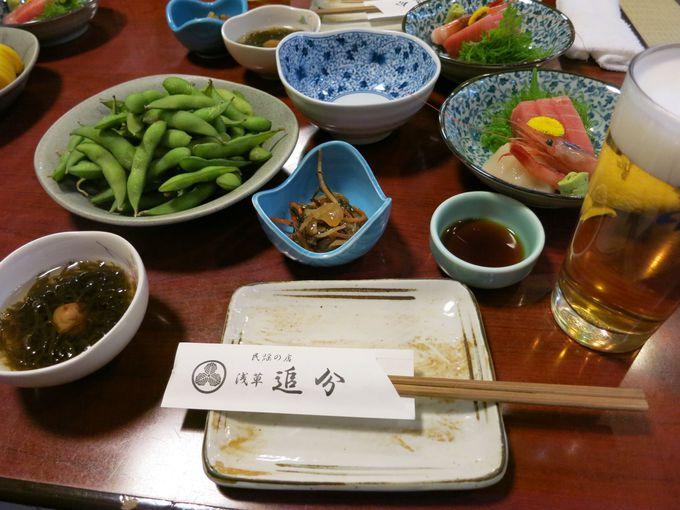 正しい日本の居酒屋メニュー、ドジョウの唐揚げは絶品!