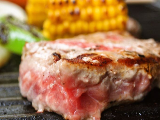 厚切り肉が楽しめるガーデンBBQは、「入園料込み」だからお得!