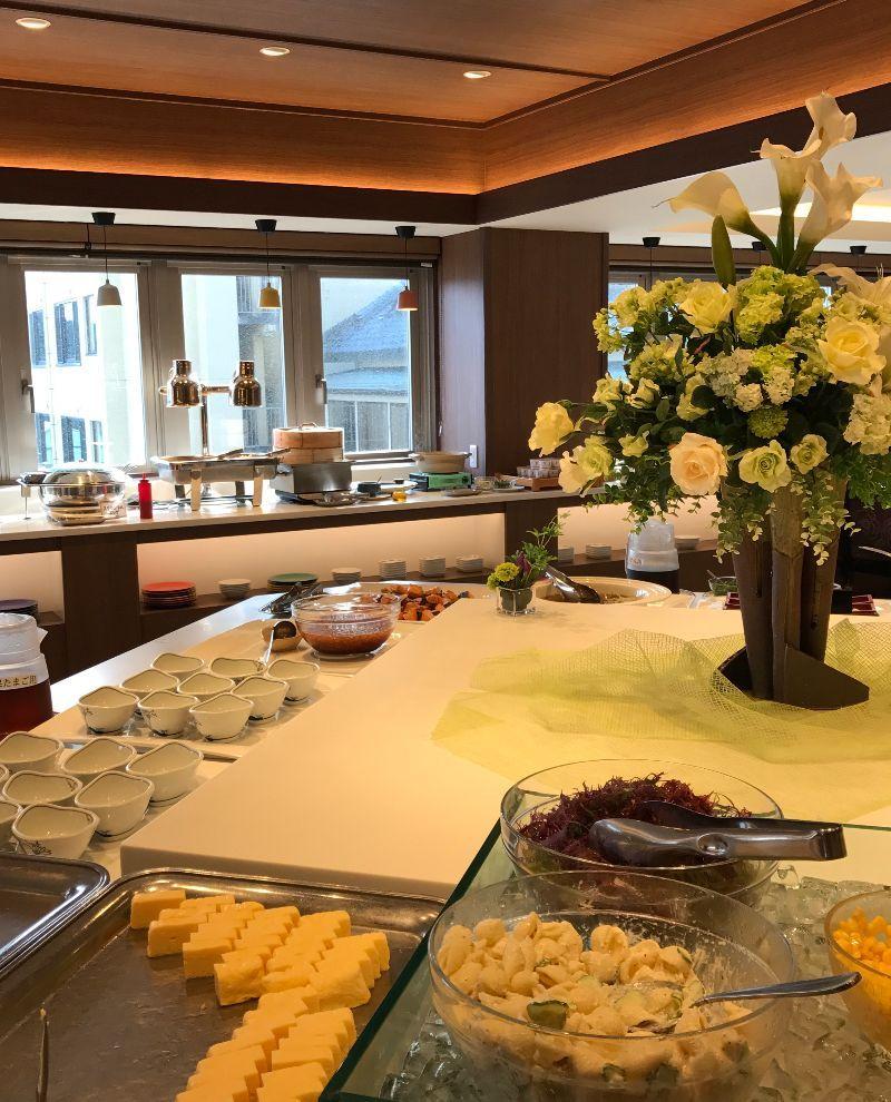 新潟の名産グルメがずらりと並ぶ朝食ビュッフェも最高です