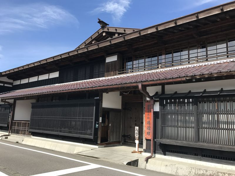 「美しい日本の歴史的風土100選」に選ばれた関川村の風情ある街並み