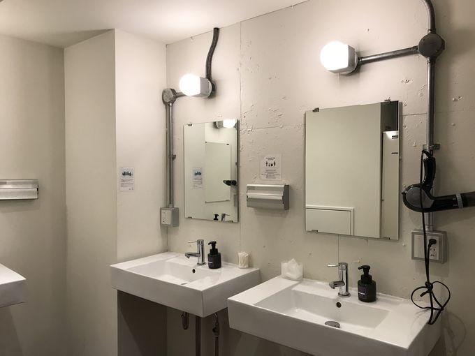女性専用シャワールームもあるので安心