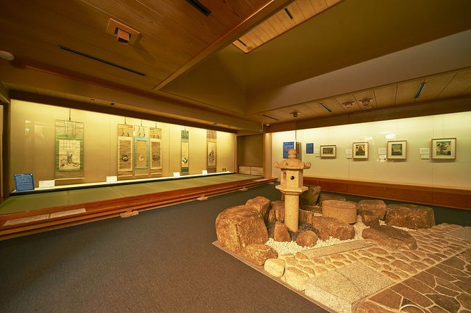 日本情緒あふれる空間で、ゆったり浮世絵を楽しむ時間