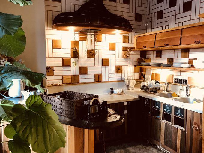 24時間使えるキッチン&共有スペース