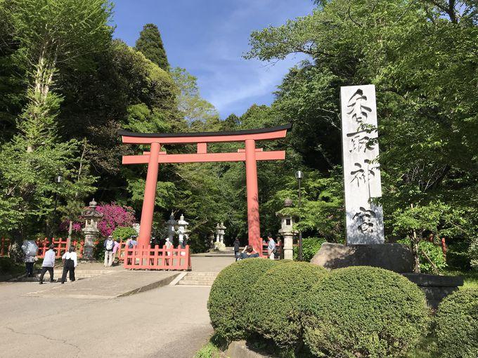 全国に約400社ある香取神社の総本社、香取神宮