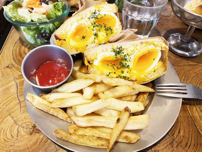 わざわざ食べに来たい!「egg baby cafe」の絶品卵サンド