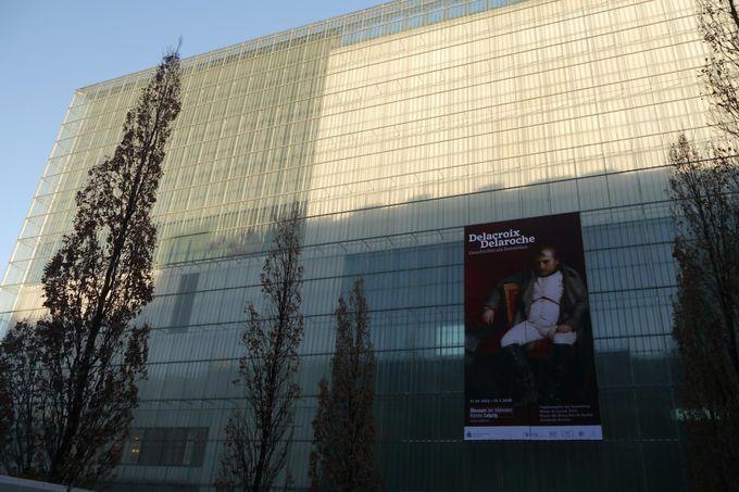 音楽の都にある現代的な美術館