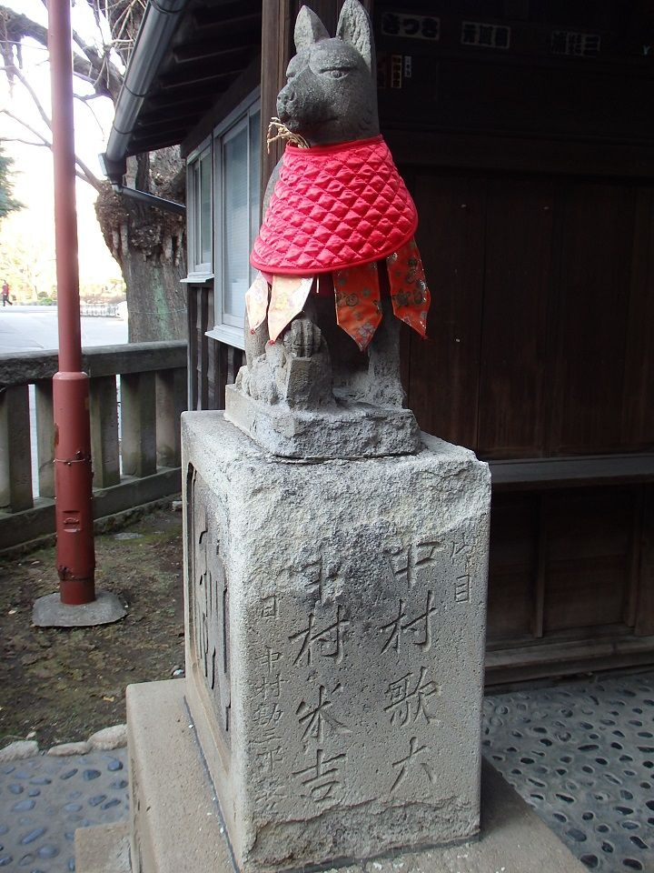歌舞伎役者も信仰