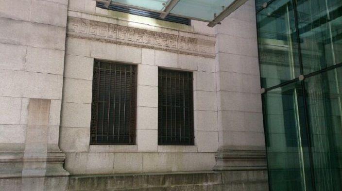 内装も魅力的な三井記念美術館