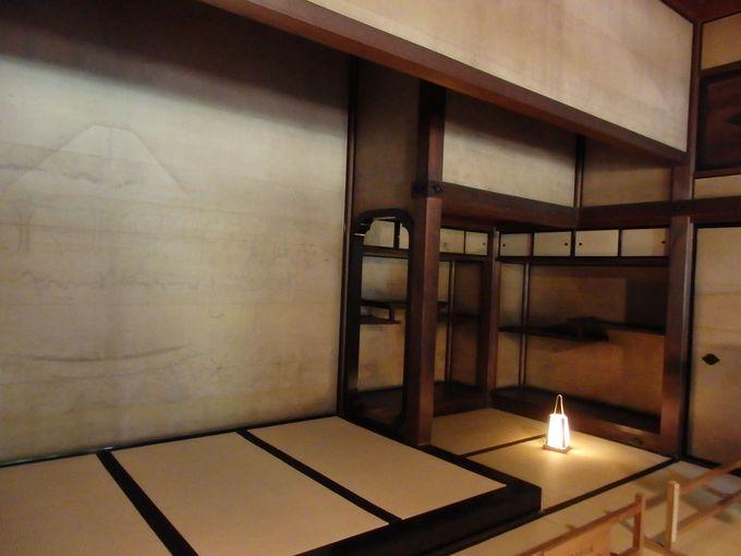 和館の大広間には橋本雅邦の障壁画