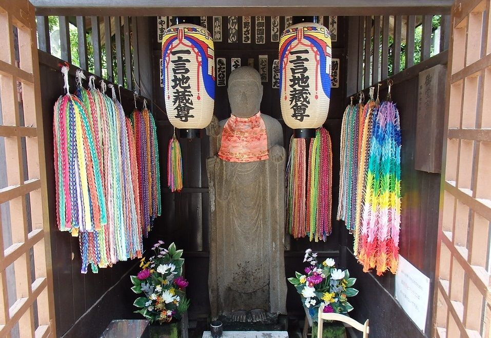 東京・護国寺3つのパワースポット!開運柱・一言地蔵・音羽富士