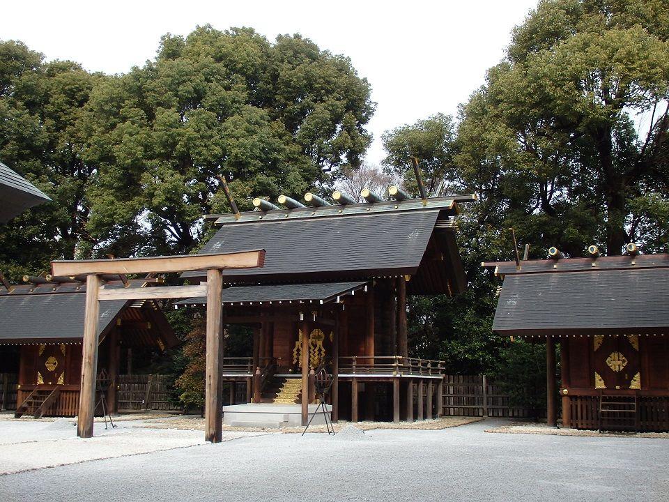 強いパワーが宿る「三貴子」を祀る本殿