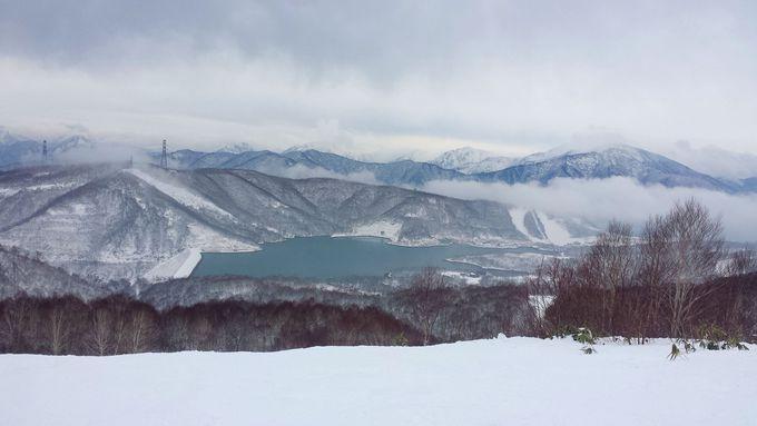 たしろエリアから見渡せる田代湖に息を呑む!