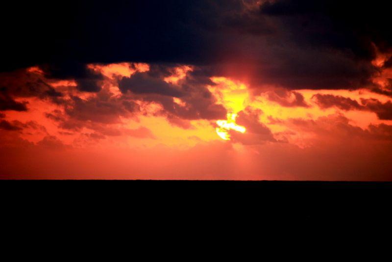夕焼け&朝焼けに息を呑む