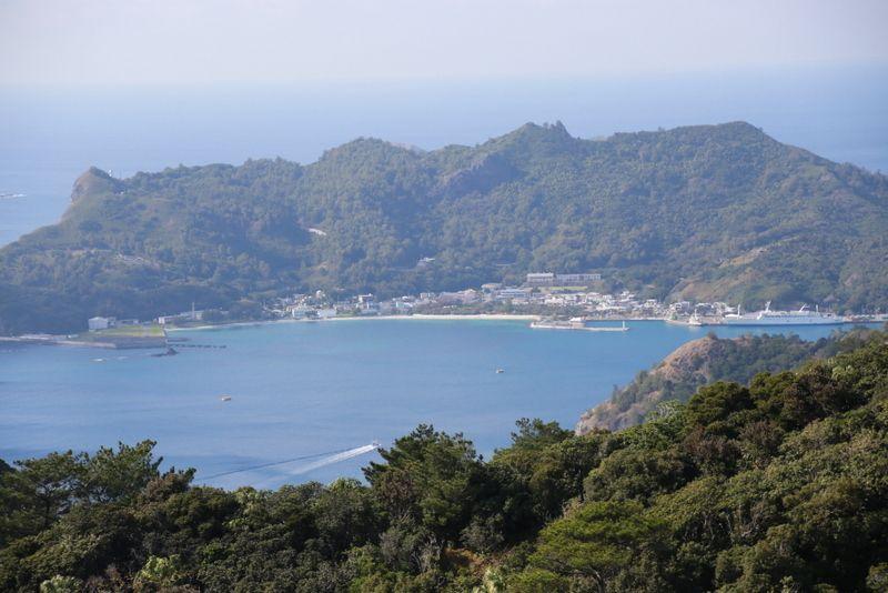 360°父島を独り占め・中央山展望台