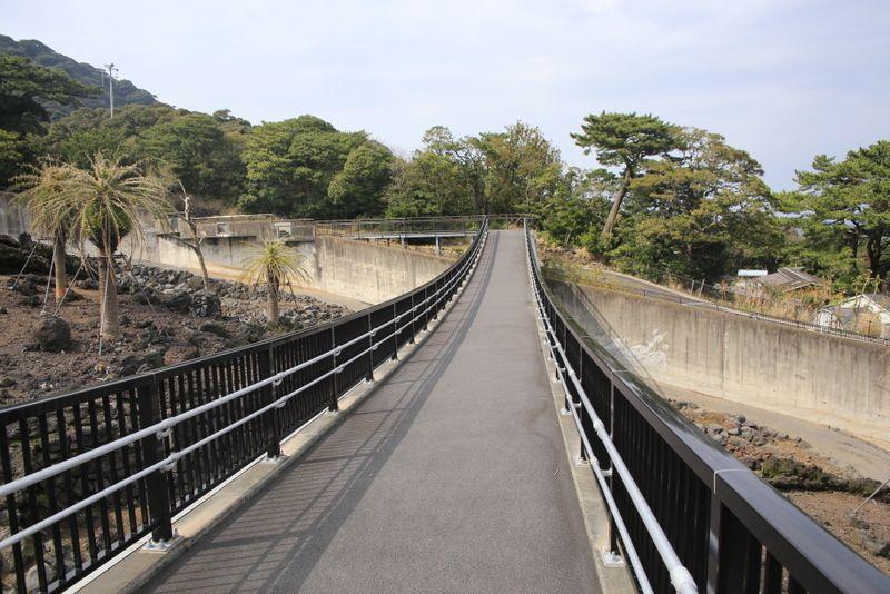 伊豆大島の大地が感じられるサル島