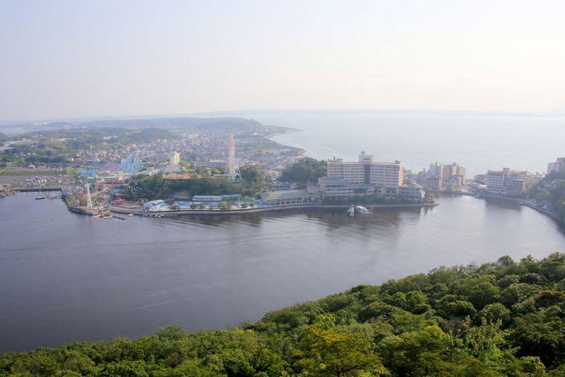 日本唯一!湖の上を羽ばたく静岡「かんざんじロープウェイ」