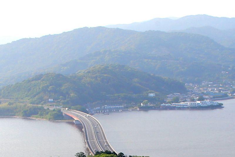 日本唯一!日本初!湖上を渡る「かんざんじロープウェイ」