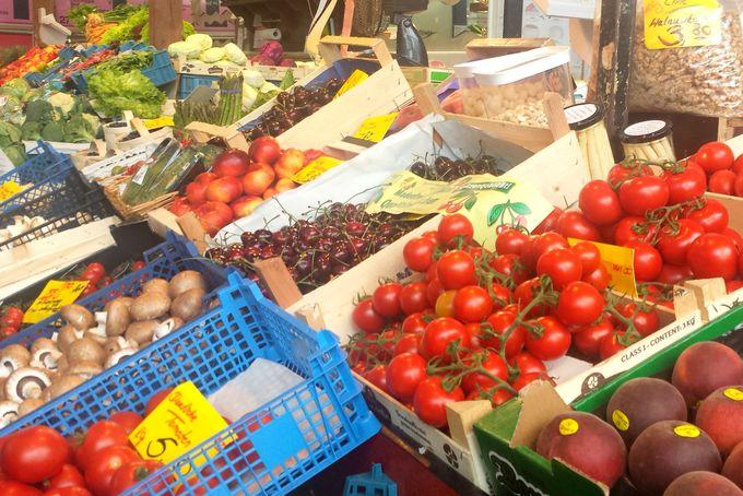 鮮やかな色が眩しい野菜・フルーツ