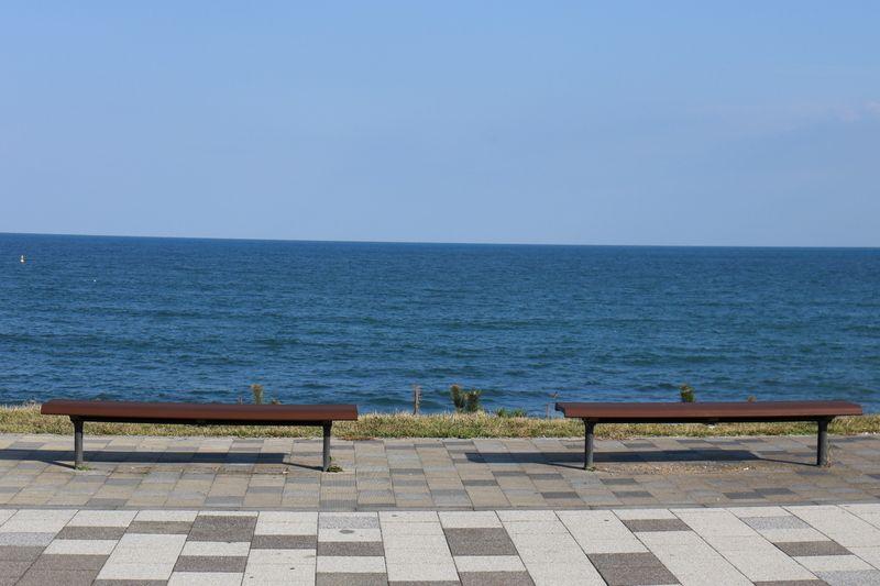 海を見ながらのドライブへ