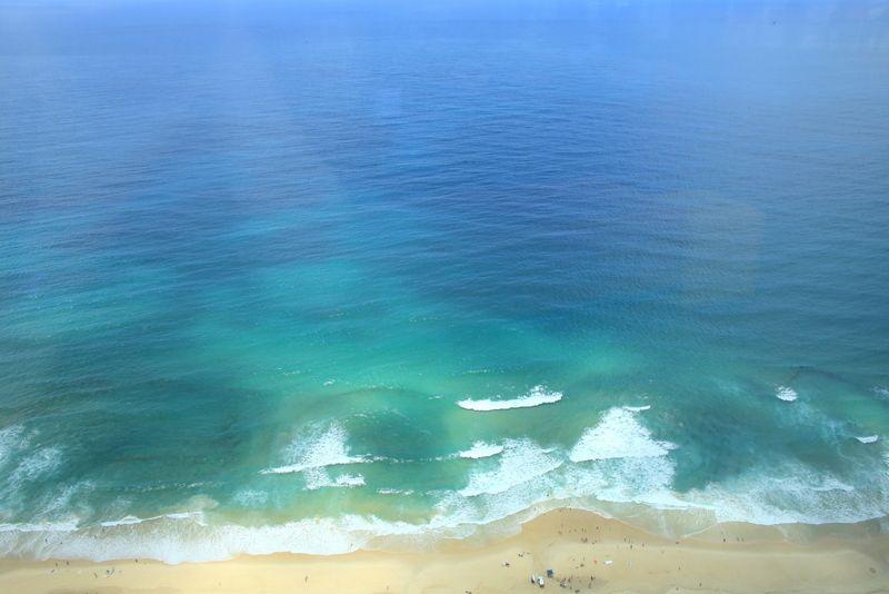 目の前の海も注目ポイント